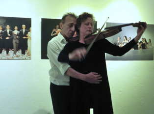 Duo with Gunda Gottschalk - Backstub Galerie - 2013